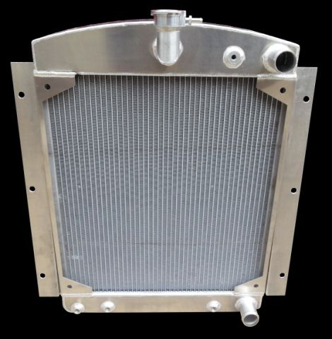 RnD Fabrication 47-54 Chevy & GMC Pickup & Suburban Downflow Radiator