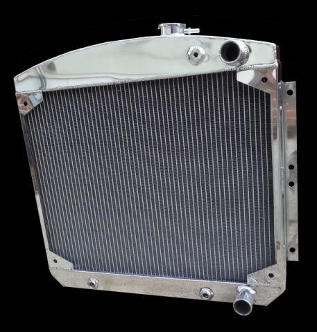 RnD Fabrication 47-54 Chevrolet Bel Air / 150 / 210 Downflow Radiator