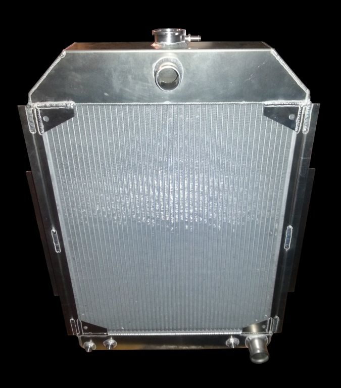 RnD Fabrication F1 Aluminum Downflow Radiator