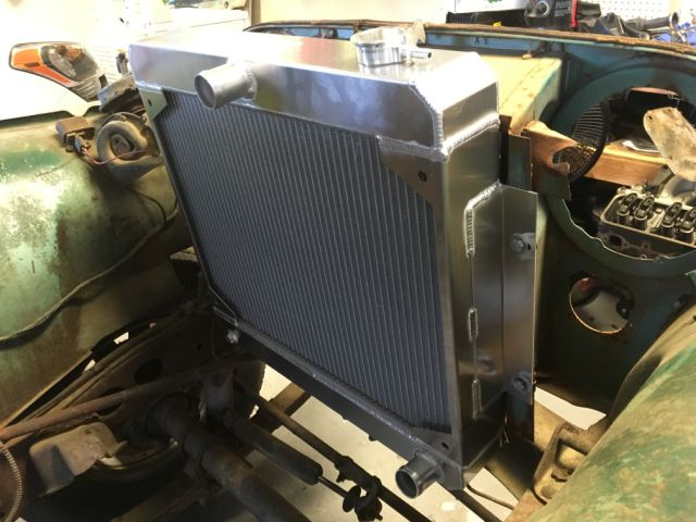 RnD Fabrication 66-71 Jeepster Commando Radiator