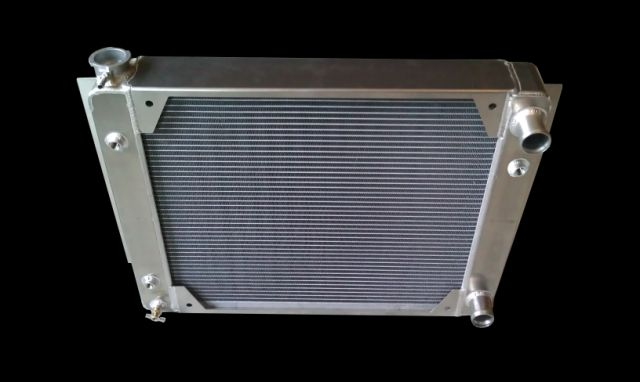 RnD Fabrication Nova LS Swap Aluminum Crossflow Radiator