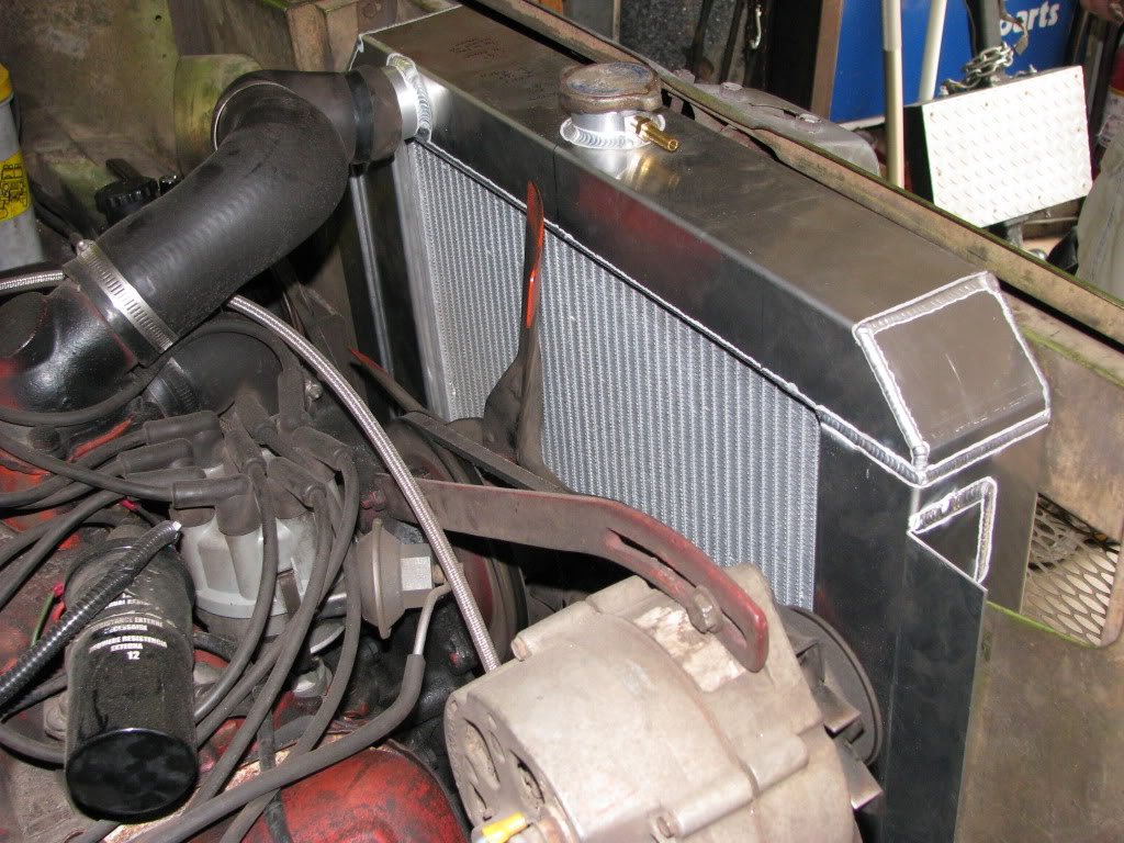 RnD Fabrication Scout 800 Radiator